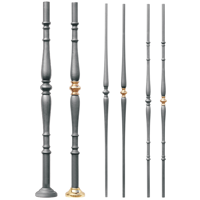 Grande Forge Ronde Series Round Posts and Balusters