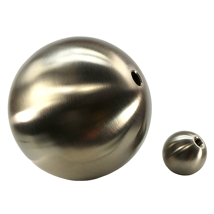 316 Stainless Steel Solid and Hollow Balls with Threaded Hole