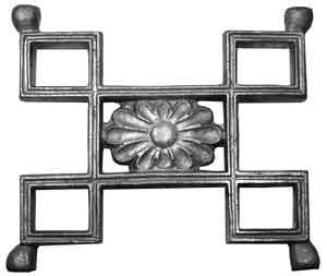 Greek Key Pattern in Aluminum