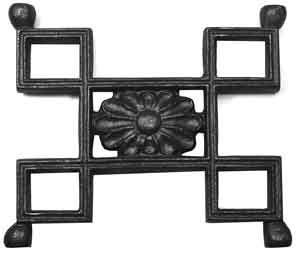 Greek Key Pattern in Cast Iron