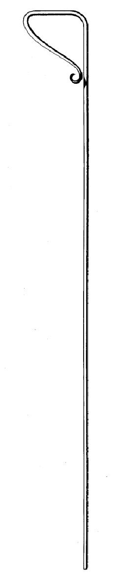"1/2"" dia. Forged Steel Drop Bar, 24"" Long"