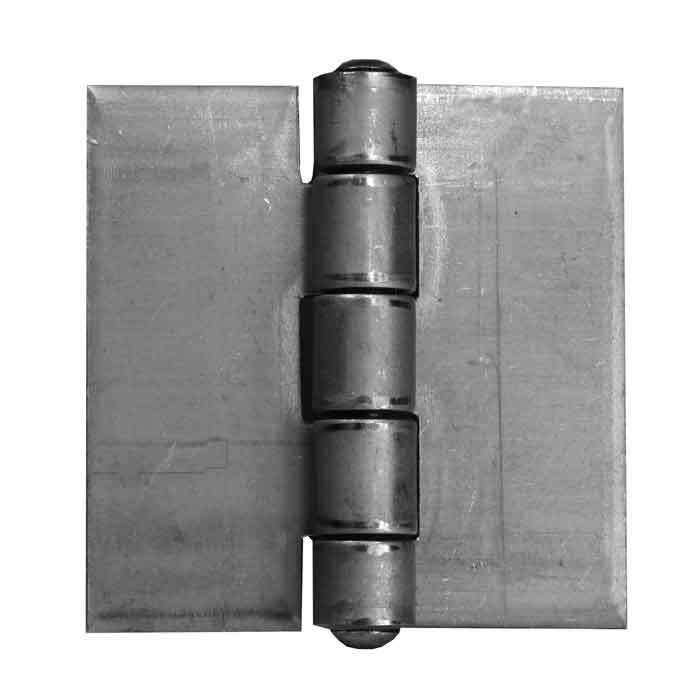 "3"" x 3"" Steel Heavy Duty Butt Welding Hinge, .125"" Thick, No Holes, Sold per Pair"