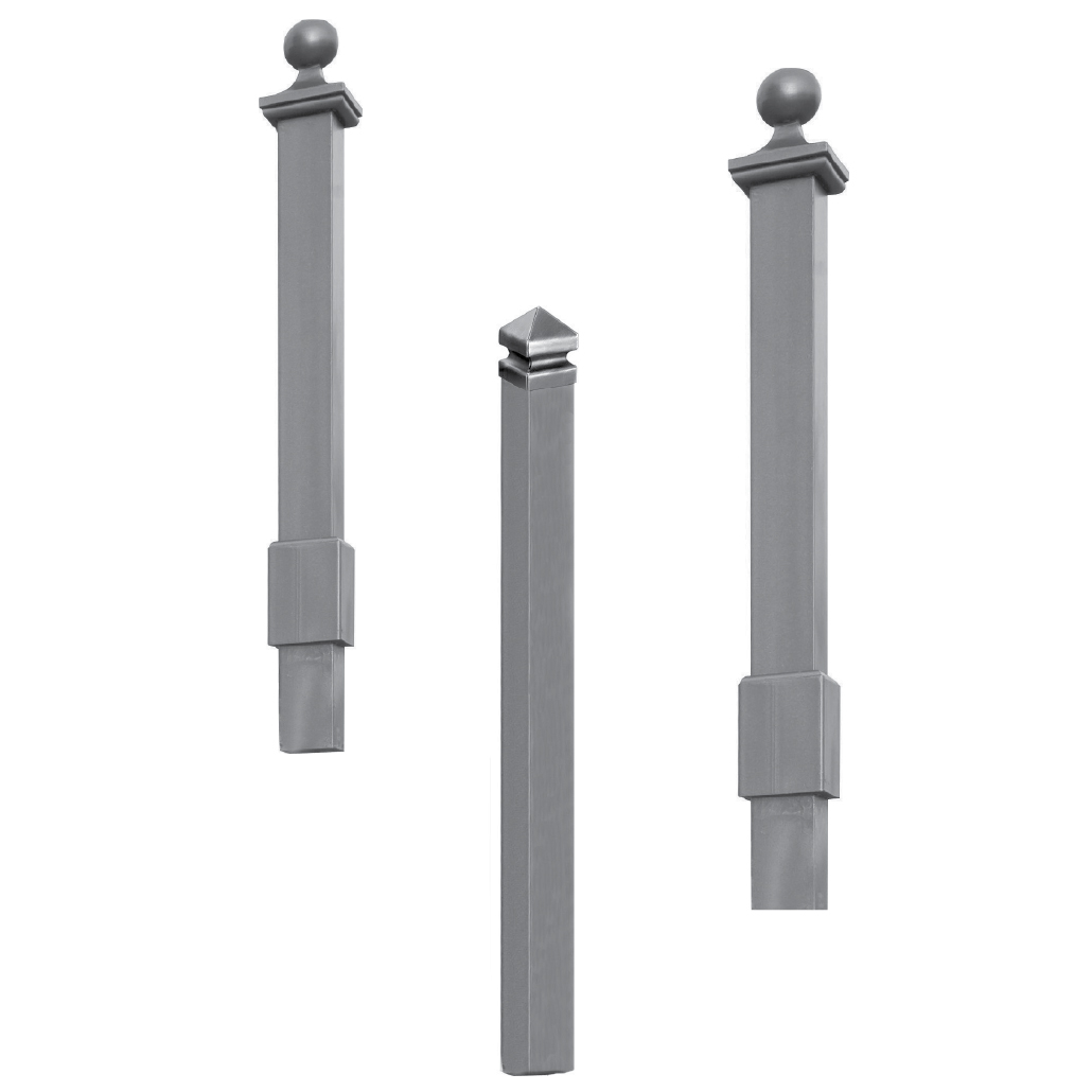 Hot Dip Galvanized Steel Columns