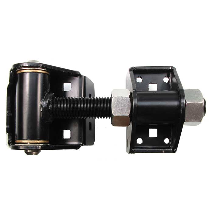 Gate Hinge for Larger Gates, Swings 180 degrees, Steel, Screws Included, Sold as Pair