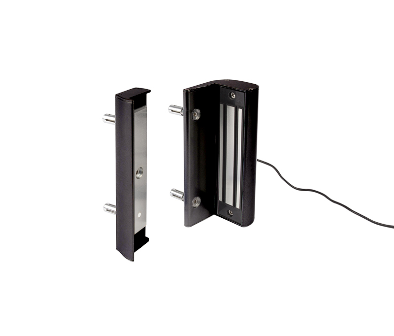 DISCONTINUED - Electro Magnetic Lock without Handle, 600 lbs. pulling force, Black