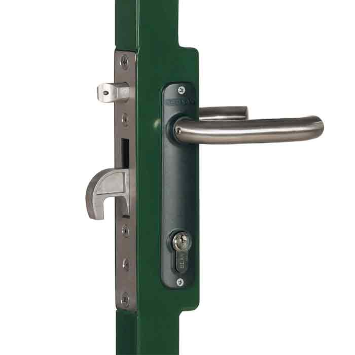 """Mortise Lock Kits with Weld Box for 1-1/2"""", 2"""" and  2-1/2"""" Frames"""