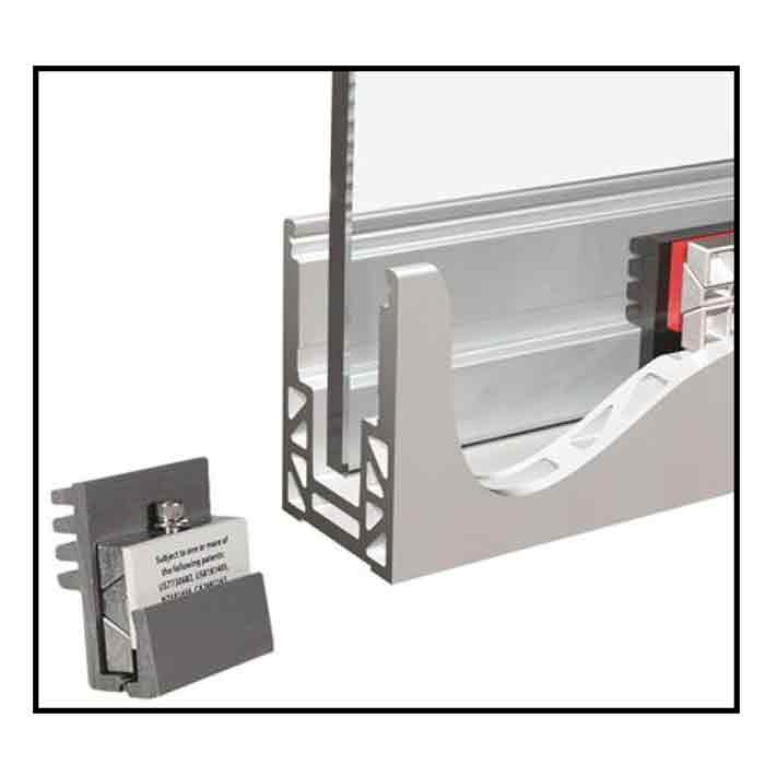 """Base Shoe Mechanism Kits for .64"""" to .726"""" Thick Glass"""