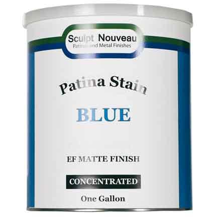 1 gallon Blue Patina Stain