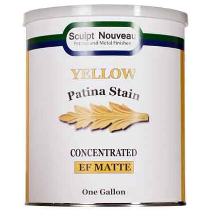 1 gallon Yellow Patina Stain