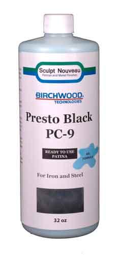 32 oz. PC-9 Presto Black-GEL