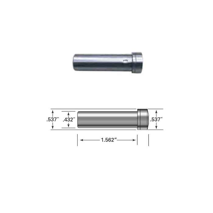 """Pull-Lock fitting for 3/16"""" Cable. Can use with 2-1/2"""" flat sided frame, 2-1/2"""" round tube frame or 2-1/2"""" pipe frame, swageless option"""