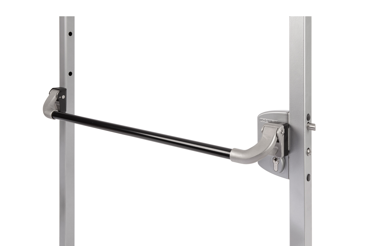 Aluminum Push Bar Compatible with Locinox LUKY or LFKQ Chassis