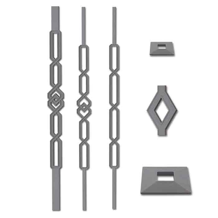 Grande Forge Quartz Series Posts and Balusters