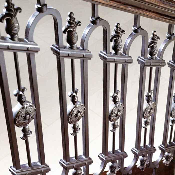 "36"" Tall Hooped Steel Panels, Windsor by Regency Railings"
