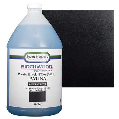 Birchwood Technologies Patina-Presto Black for Iron & Steel