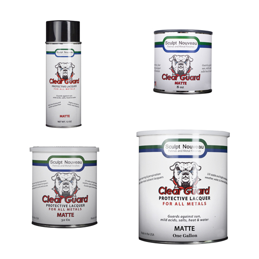 Clear Guard-MATTE Sealer, suitable for all metals, more suitable for interior use.