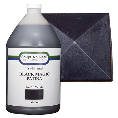 Traditional Patina-Black Magic for all metals
