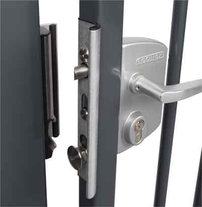 Shield for Locinox Security Keep, Aluminum