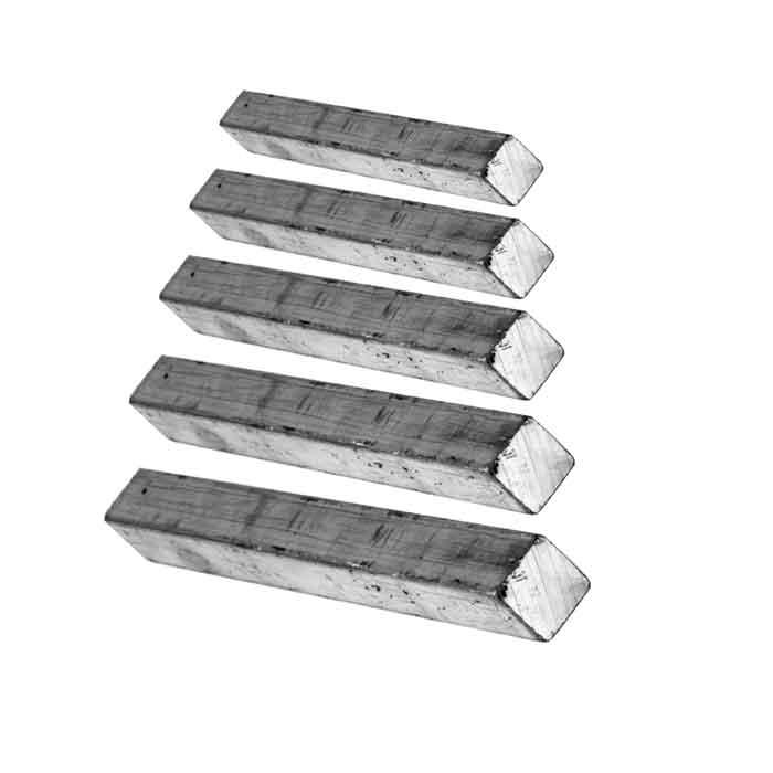 Square Aluminum Solid Bar
