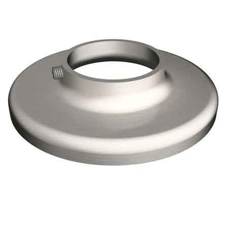 """Stainless Steel Heavy Base Plain Flange with Set Screw for 1-1/4"""" and 1-1/2"""" Sch. 40 Pipe"""