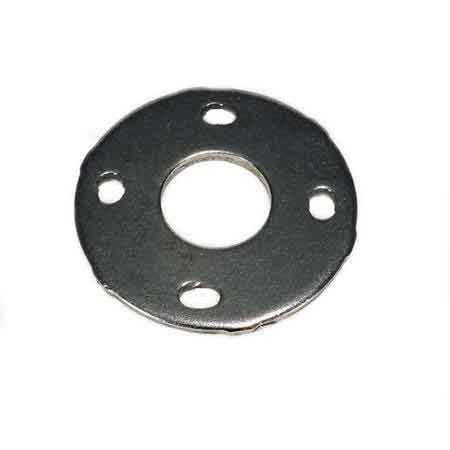 """Cover Flange Base for 1-1/4"""" Pipe, 304 Stainless Steel, 4 mounting holes, 4-3/8"""" dia."""