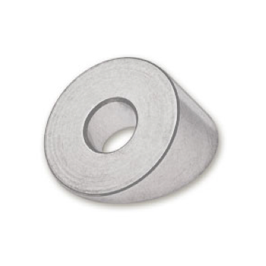 """Beveled Washer for 1/8"""" or 3/16"""" Threaded Terminal, Stainless Steel"""