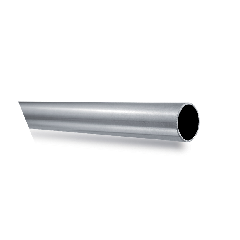 "Stainless Steel Round Tubing, 1-2/3"" dia."