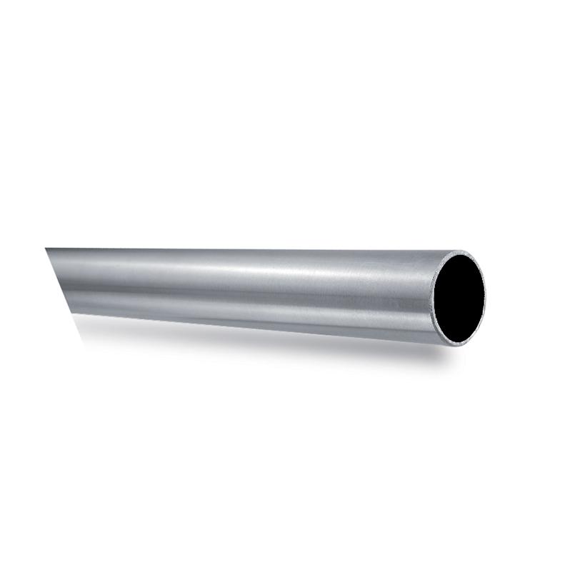 "1-2/3"" dia. Tubing, 316 Satin Stainless Steel, 9'10"" Long"