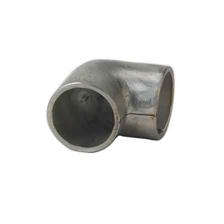 "Stainless Steel 90 degree Elbow with 1/8"" Internal Radius for 1-1/4"" and 1-1/2"" Schedule 40 Pipe"