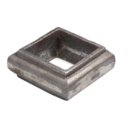 """Picket Collar for 1-1/2"""" sq., Steel, 1"""" Tall"""