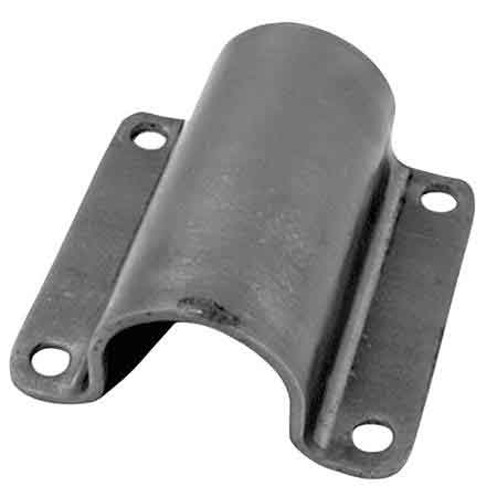 """Steel U-Brackets for Pipe for 1-1/4"""" and 1-1/2"""" Schedule 40 Pipe"""