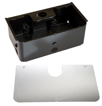 Support Box for FAAC Model S800H, Steel