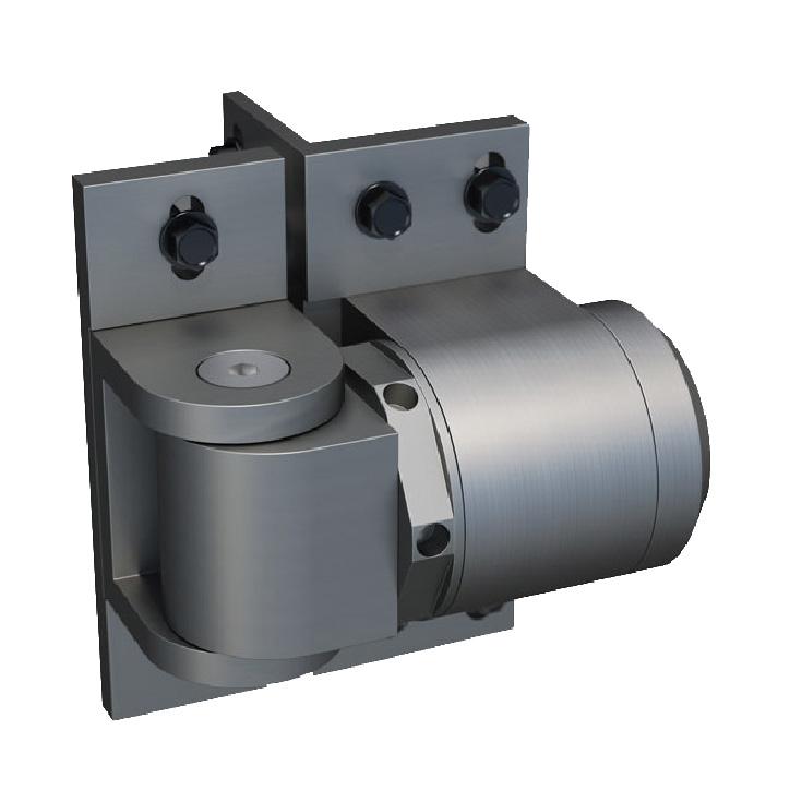 ReadyFit-RF SM S-Non-Self Closing External Mount Hinge, Screw-on