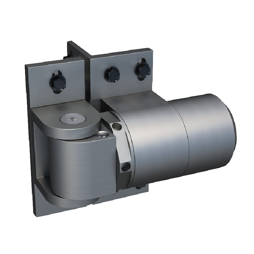 ReadyFit-RF 108 W-Self Closing External Mount Hinge/Closer, Weld-on, non pool safety