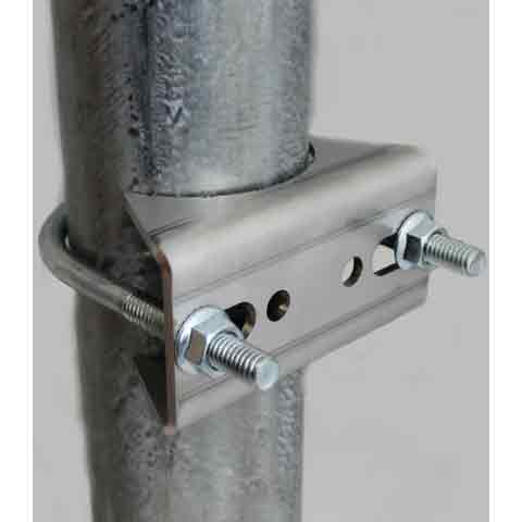 Chainlink Mounting Kit Compatible with TB Series Gate Closers