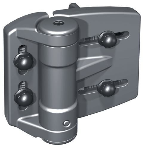 "TruClose Heavy Duty Self-Closing Hinges for 1-7/8"" - 2"" Round Posts"
