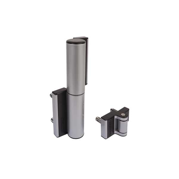 TIGER Compact Hydraulic Gate Hinge/Closer for Gates up to 165 lbs., Silver