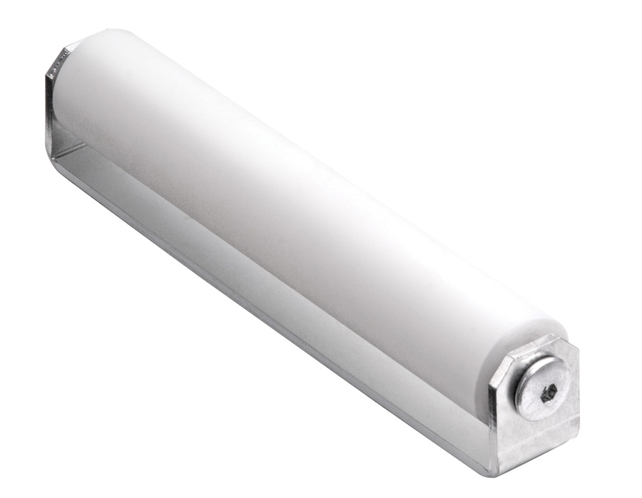 "10"" Side Nylon Roller, 1-1/4"" Dia w/2"" Clearance"
