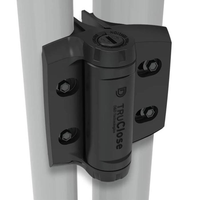 "TruClose Heavy Duty Self-Closing Hinges for 1-3/8"" - 1-5/8"" Round Posts, Series 3"