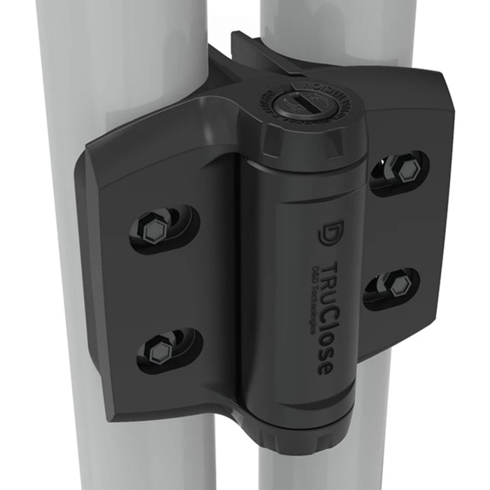 "TruClose Heavy Duty Self-Closing Hinges for 1-7/8"" - 2"" Round Posts, Series 3"
