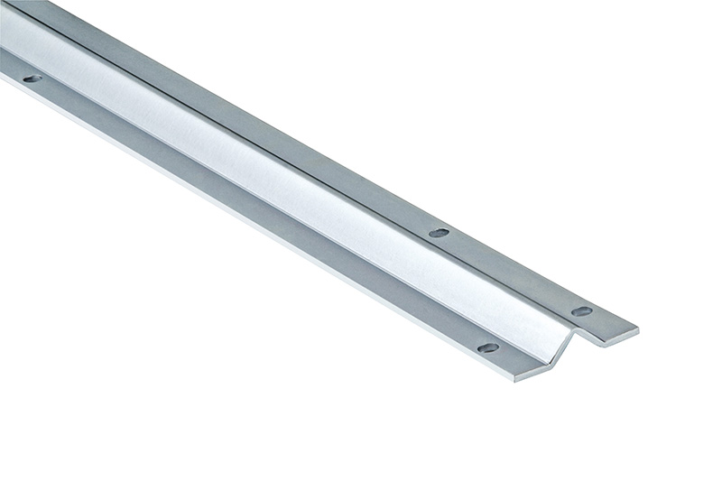 "V-Track, 19'-8"", Bolted on Type, 2-1/8""W, 1/8""Th, Galvanized"