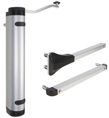 Verticlose-2 Hydraulic Gate Closer for 90 or 180 degree Gates up to 330 lbs., Silver
