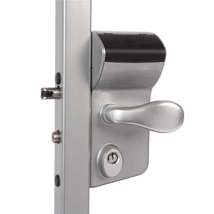 Vinci Mechanical Code Lock, Silver, Mfg Locinox