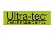 Ultra-tec is a stainless steel cable rail infill which provides a modern look and unobstructed views.