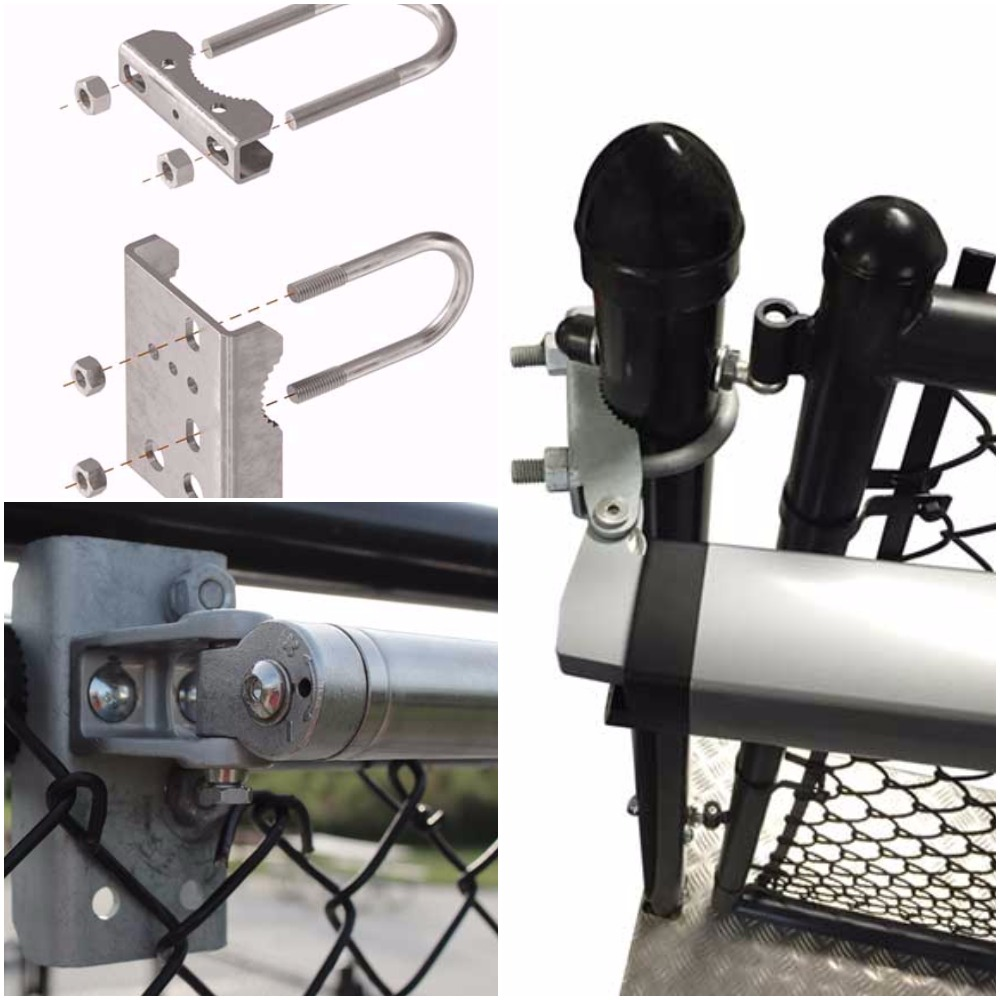 Chain link lock kits