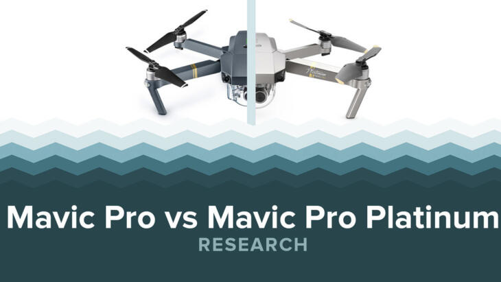 DJI Mavic Pro Vs Mavic Pro Platinum Banner Image