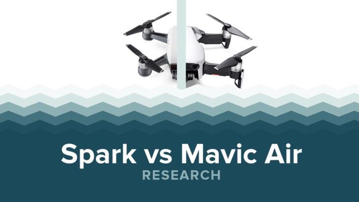 DJI Spark vs Mavic Air - Specs & Price Banner Image