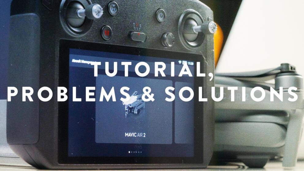 DJI Smart Controller Mavic Air 2 Update Tutorial, Problems & Solutions Banner Image