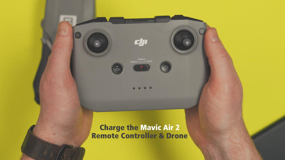 How to Charge the Mavic Air 2 Remote Controller & Batteries Banner Image