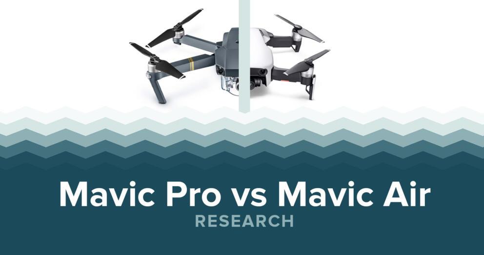 DJI Mavic Pro Vs Mavic Air Specs & Price Banner Image
